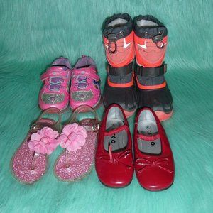 Lot of Girls Shoes and Boots Size 8